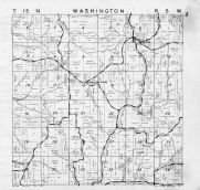 Washington Township, Middle Ridge, Newburg Corners, La Crosse County 1954